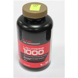 BOTTLE W 150 GNC L-GLUTAMINE CAPLETS