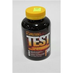 BOTTLE W 180 MUTANT TEST TESTOSTERONE CAPSULES
