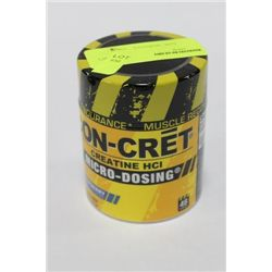 47.7 GRAMS CON-CRETE CREATINE