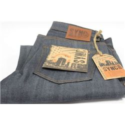 PAIR OF SYNC MENS JEANS SIZE 34