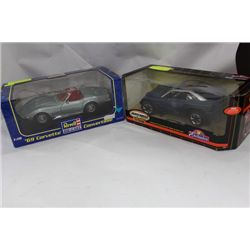 DIE CAST COLLECTIBLE CARS 1:18 SCALE X2