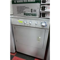 FRIDGIDAIRE GALLARY DRYER FRONT LOADING