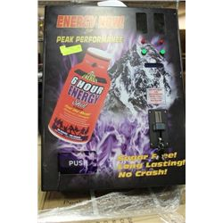 VENDING MACHINE (ENERGY DRINK) NEW IN BOX