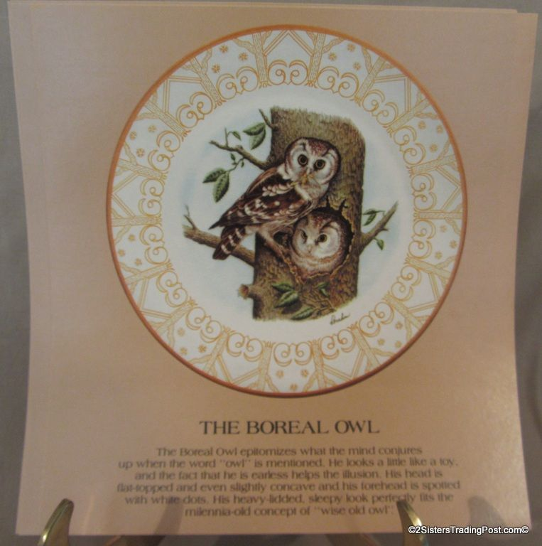 1980 The Edward Marshall Boehm Owl Collection