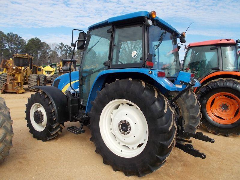 NEW HOLLAND T5050 MFWD FARM TRACTOR, S/N ZBJH02989 (12 YR) PTO, 3PTH, 2 HYD  REMOTES, ECAB W/AIR, 420