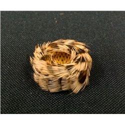 Pomo Mini Feather Basket - Vintage