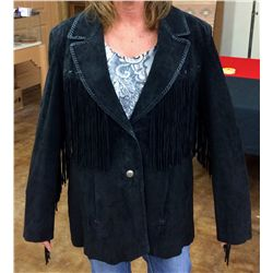Cripple Creek Fringed Leather Jacket