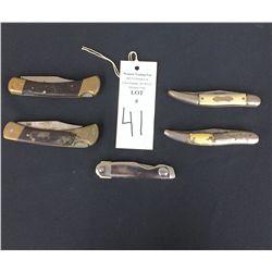 US Made Pocket Knife Lot