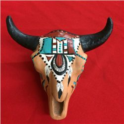 Cow Skull Pottery