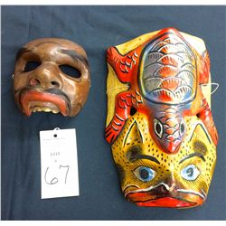 Mexican Dance Mask Lot