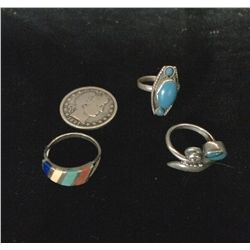 Native American Style Ring Lot