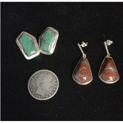 Sterling Earring Lot