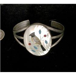 Zuni Style Vintage Cuff Bracelet