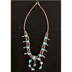 Chief Dodge Squash Blossom Necklace
