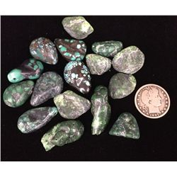 Peacock Turquoise Lot