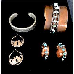 Bracelet and Earring Lot