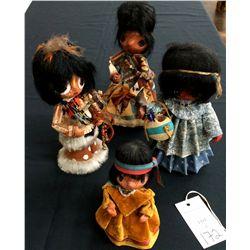Vintage Handmade Doll lot