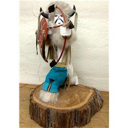 Buffalo Warrior Kachina