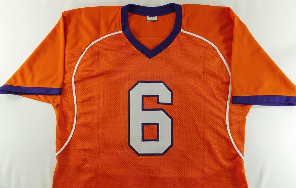 buy online 7bdb8 9541e DeAndre Hopkins Signed Clemson Jersey (TriStar COA)