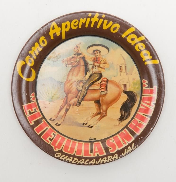 Original Tin Advertising Tray