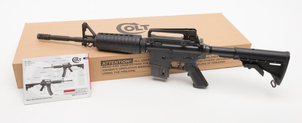 Walther Manufactured For Colt M4 Semi Auto Carbine 22LR Rimfire Caliber BP029123 In Fine Con