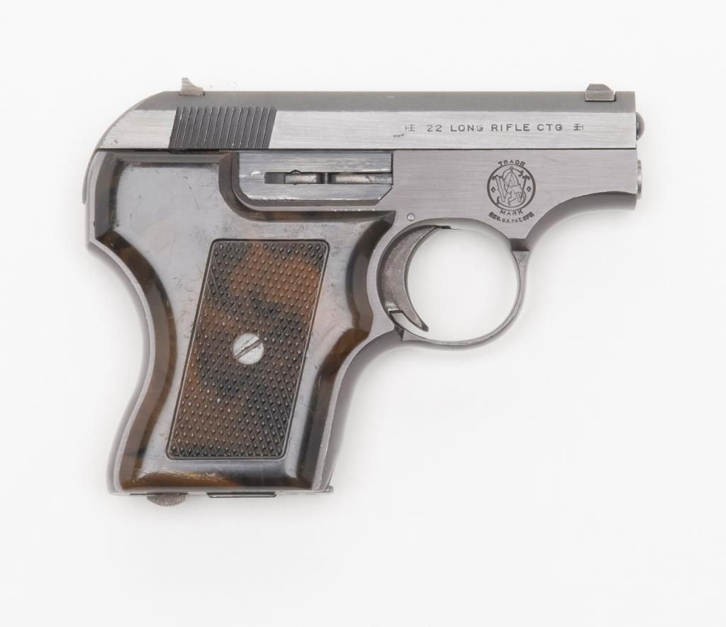 Smith and Wesson Model 61 Escort semi-automatic pistol, cal   22 Long  Rifle, Serial #B6876  The p