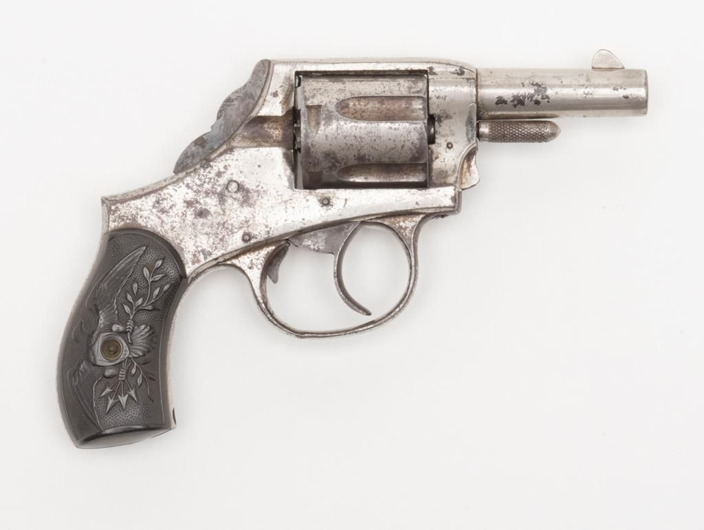 American Bulldog Revolver 38 Caliber Serial 9823 The Pistol In