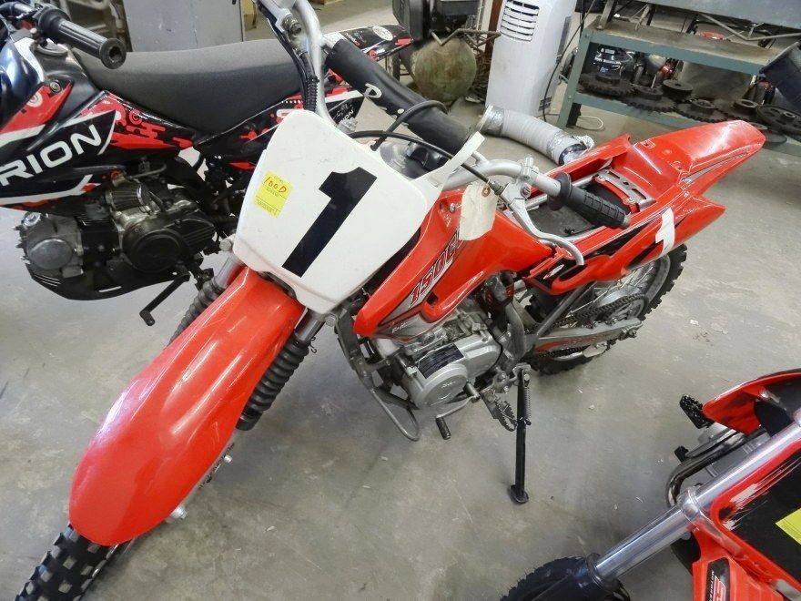 2008 Baja 150cc Dirt Bike (No Seat) - Vin # LUAHYKC0081001355