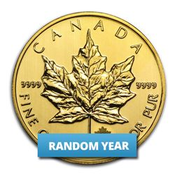 1 oz Gold Canadian Maple Leaf