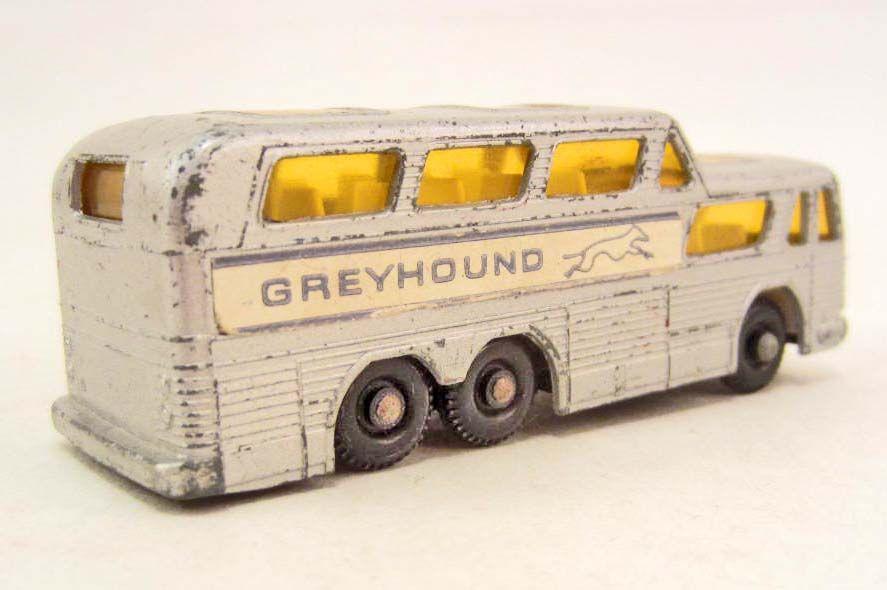 1970 S Matchbox No 66 Greyhound Coach Bus Toy Car