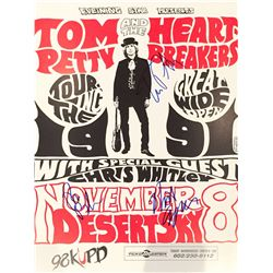 Tom Petty and the Heartbreakers signed original concert poster