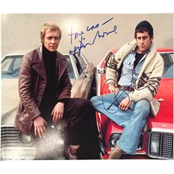 Starsky and Hutch large 11x14 color signed photograph
