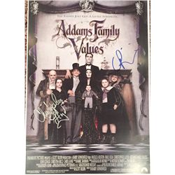 Addams Family Values mini premiere poster approx. 13x19 signed at the premiere by Christopher Lloyd
