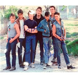 The Outsiders 11x14 signed by Tom Cruise, C. Thomas Howell and Ralph Macchio
