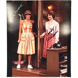 Penny Marshall and Cindy Williams dual signed 11x14 from Laverne and Shirley