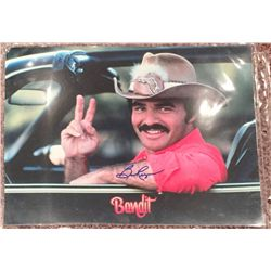 Burt Reynolds signed 11x14 from the movie Smokey and the Bandit