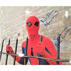 """Nicolas Hammond (tv's Spiderman) signed 11x14 inscribed with """"Peter Parker"""""""