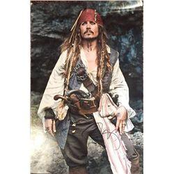 Johnny Depp magnificent large 13x19 color matte finished image as Captain Jack Sparrow