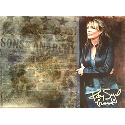 """Sons of Anarchy Katey Sagal signed color large 11x14 image adding her characters name """"Gemma"""" as wel"""