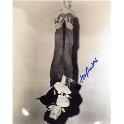 Tony Curtis signed large Houdini image
