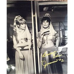 I Dream of Jeannie (Rare!!!) – 1 of 8 signed 11x14s that show Eden and her stunt double in a split s
