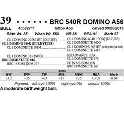 Lot 39 - BRC 540R DOMINO A56