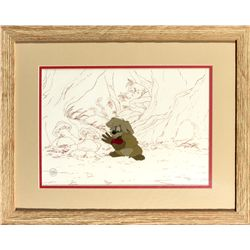 Original Production Cel of Gurgi from The Black Cauldron
