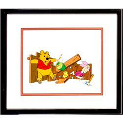 Winnie the Pooh and Piglet Animation Cel from The New Adventures of Winnie the Pooh