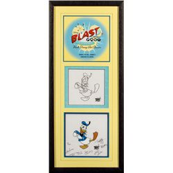 Blast to the Past Walt Disney Art Classics Donald Duck Animation Cels
