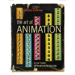 Walt Disney Signed Art of Animation Book