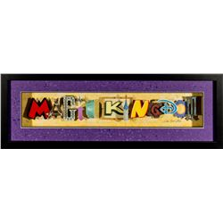 """Dave Avanzino """"Magic Kingdom"""" Mixed Media Art Display"""