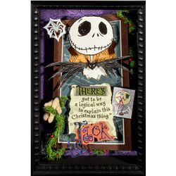 Dave Avanzino Limited Edition Disney's Nightmare Before Christmas Mixed Media Artwork