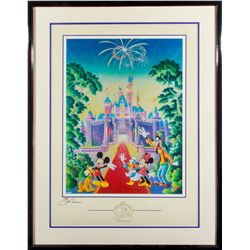 Randy Souders Signed Disneyana Convention 2001 Poster