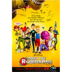 Autographed One-sheet Poster for Disney's Meet the Robinsons